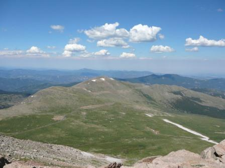 From Summit of Mt. Evans, Colorado